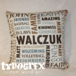 Custom Pillows & Blankets